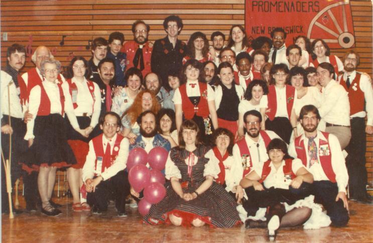 Rutgers Promenaders in 1984